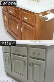 How To Refinish A Bathroom Vanity Naturally No VOCs Health Extremist Custom Refinishing Bathroom Vanity
