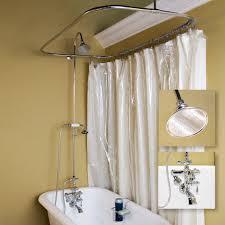 Clawfoot Tub Shower Image Jacshootblog Furnitures Make A