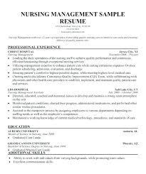 Sample Nurse Manager Resumes Incredible Ideas Nurse Manager Resume Sample Assistant Format For