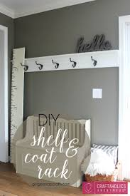 ... Rack, Shelf & Diy Coat Rack Stand Ideas: Exciting Diy Coat Rack For  Home ...