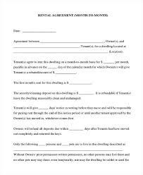 6 Month Tenancy Agreement Template Sample To Lease Ideas Rental ...