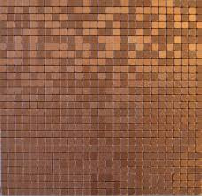 Copper Coin Peel-and-Stick Backsplash Tile, Single Tile, 11.38