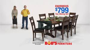 Bob s Discount Furniture Enormous Dining Room Set on Vimeo