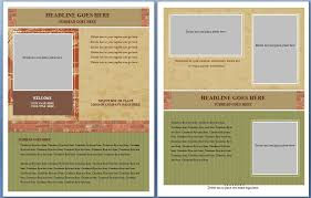 flyer word templates brochure template free microsoft word free ms word real estate flyer