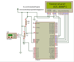 89c51 based digital thermometer using ds1820 embedded systems blog 89c51 based digital thermometer using ds1820