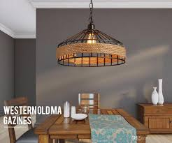 Industrial lighting fixtures vintage Vintage Pendant Loft Vintage Rope Pendant Lamp Iron Retro Lighting Fixtures Industrial Style Vintage Edison Pendant Lights Lamparas De Techo Restaurant Bar Lighting Pendant Jamminonhaightcom Loft Vintage Rope Pendant Lamp Iron Retro Lighting Fixtures