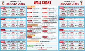 Fifa World Cup 2018 Full Match Schedule Fifa World Cup