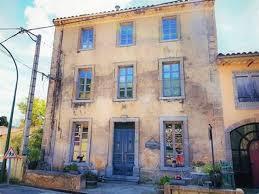 roquebrun maison de maître à caractère à vendre avec 5 chambres d hôtes hérault moulin