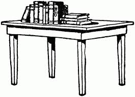 table clipart black and white. table clipart black and white c