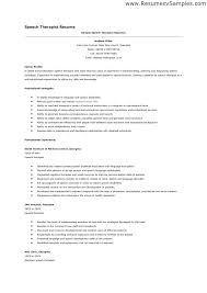 Speech Pathologist Cover Letter Resume Sample Speech Therapist Cover ...