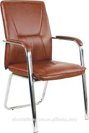 small brown leather office chair modern chairs without wheels for 15