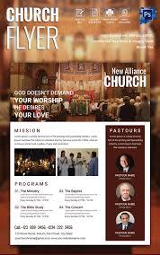 psd flyer templates psd eps ai indesign format high resolution church flyer template