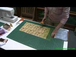 Cut Strips and Squares from a Fat Quarter - YouTube &  Adamdwight.com