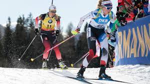 L'italia del biathlon scopre la miglior versione della staffetta femminile, mai così vicina al podio come in questa prima gara. Partenza In Linea Femminile Biathlon Anterselva