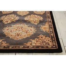 popular nourison wool rugs 2000 hand tufted medallion slate rug free