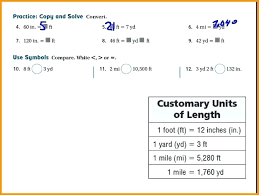 Metric System Conversion Online Charts Collection