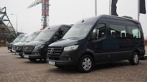 After we pulled ourselves up, the view is commanding from the driver's seat. Windmill Country On The Road In Mercedes Benz S New Sprinter Fleetowner