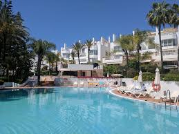 apartment 100m to beach with all day sun terrace overlooking gardens and pools nikki beach