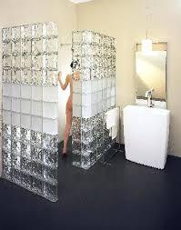 glass block shower wall glass wall blocks best glass blocks wall ideas on glass block shower