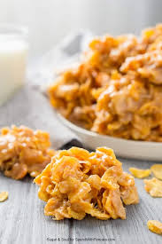 peanut butter balls with corn flakes. Peanut Butter Cornflakes No Bake Cookies Are An Easy And Sweet Treat Everyone Will Love In Balls With Corn Flakes Spend Pennies
