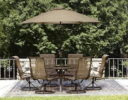 round iron dining table patio outdoor dining sets patio furniture home depot oval glass dining table with patio