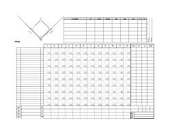 Softball Pitching Chart Template 30 Printable Baseball Scoresheet Scorecard Templates