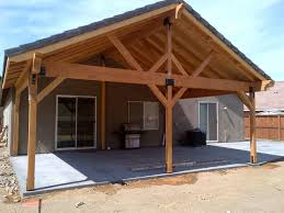Wood Patio Cover Designs