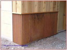 rusted corrugated metal roofing for so simple even your kids can do it