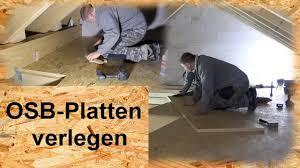 Osb platten verlegen und verputzen leicht gemacht was zu osb platten verlegen benötigt wird mit was osb platten verputz werden können. Fussboden Mit Osb Platten Verlegen Youtube