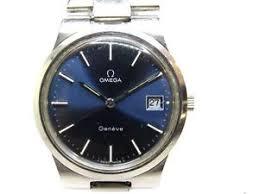 vintage omega geneve stainless steel mechanical men used watch image is loading vintage omega geneve stainless steel mechanical men used