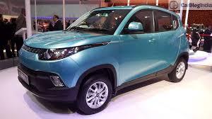 new car launches of mahindramahindrakuv100autoexpo2016  CarBlogIndia