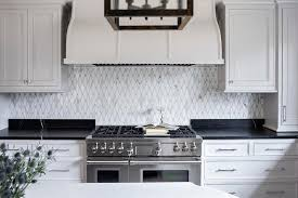 black countertops with white veining
