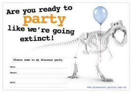 free dinosaur party invitations free printables dinosaurs galore