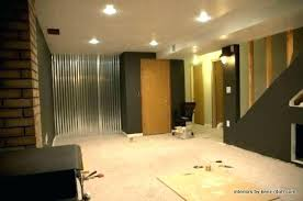 corrugated metal wall panels home depot stainless interior steel wainscoting for walls depo
