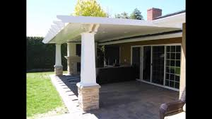 how to build a flat roof patio cover ideas