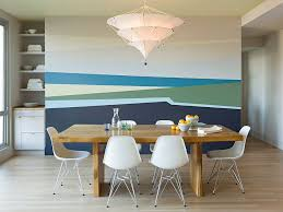 View in gallery Who said stripes have to be simple and straight? [Design:  Jessica Helgerson Interior
