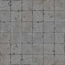 concrete tile floor texture. Seamless Pavement Texture Consisting Of Square, Grey Tiles With Worn Surface. Concrete Tile Floor