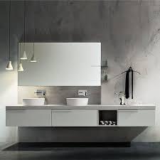 bathroom furniture modern. Bathroom Furniture With Sit-on Washbasins Cerasa Play New Bathroom Modern