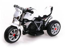<b>Детский трицикл BMW</b> R1200 R Roadster White 6V - TS-3196 ...