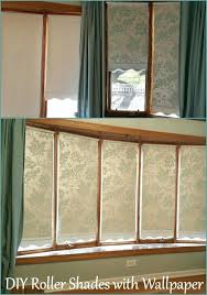 diy roller shades roller shades with wallpaper transform plain roller shades into custom shades with diy
