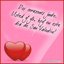 valentines day quotes for friends and family in spanish. Perfect Friends Spanish Valentines Day Dos Corazones Junto Picture For Quotes Friends And Family In I