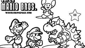 Mario Kart Coloring Pages R7786 Super Bros Coloring Pages Super