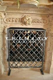 decorative fireplace screen decorative fireplace screens wrought iron trinity fireplaces for decorative fireplace screens ireland