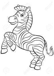 They also love to fill in coloring pages that depict them. Lovely Zebra Coloring Page Free Printable Coloring Pages For Kids