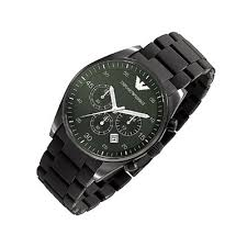 armani sportivo green men s ar5922 steel watch emporio armani quartz chronograph green dial men s watch ar5922