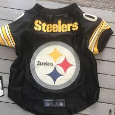 Pittsburgh Steelers Premium Pet Jersey M Nwt