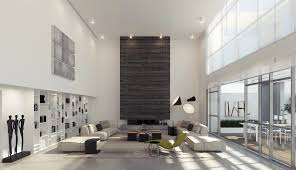 High Ceiling Height Interior Design