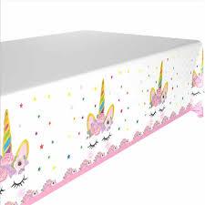 <b>Unicorn Party Decoration Disposable</b> Tableware Set Unicorn Party ...