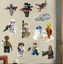 star wars lego movie posters wall stickers decals art for baby nursery kid room home decoration wallpaper cartoon on star wars baby wall art with star wars lego movie posters wall stickers decals art for baby