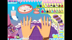 barbie nail polish salon manicure makeover games free for kids to play you